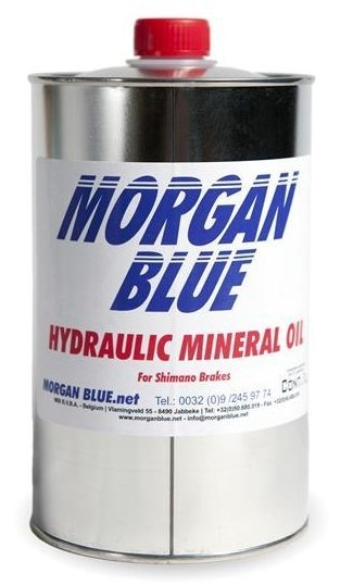 Morgan Blue Brake Fluid Mineral Olie Bremsevæske - 1000ml