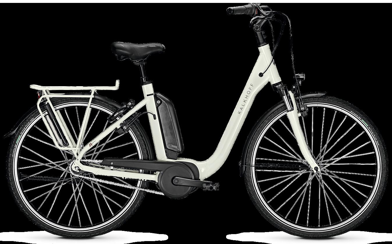 Kalkhoff AGATTU 3.B Move 2020 - Hvid | el-cykel