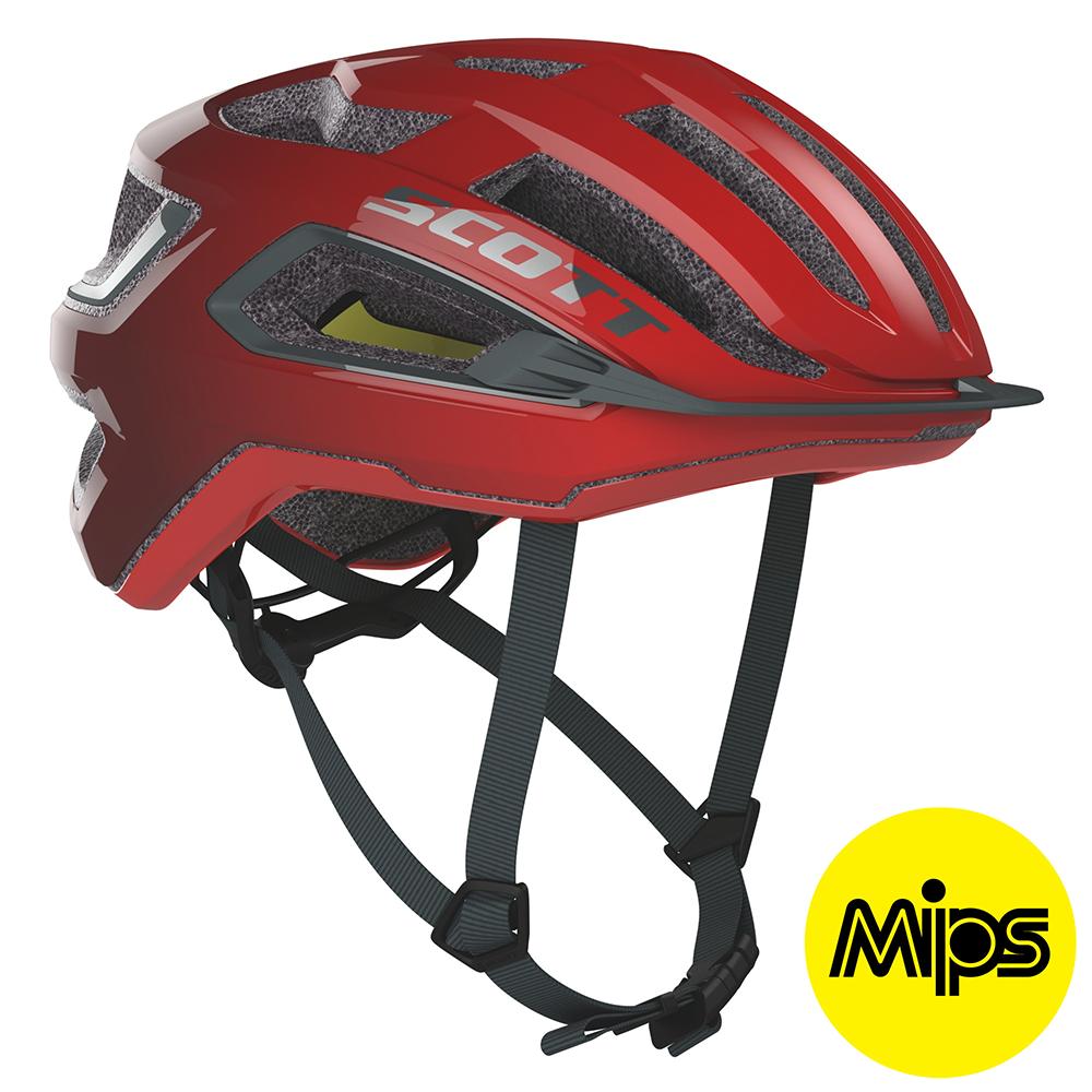 Scott ARX Plus (MIPS) Hjelm '20 - Rød