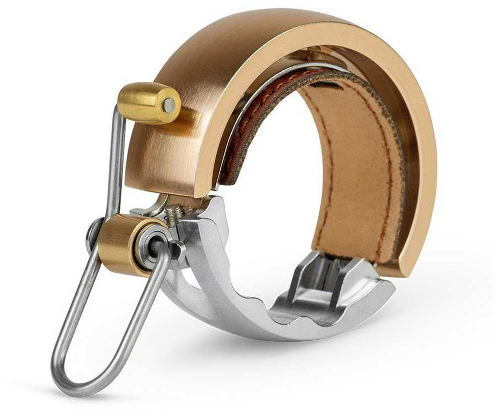 Køb Knog Ringeklokke Knog Oi Luxe LARGE – Brass
