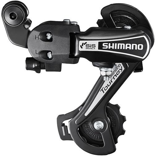 Køb Shimano Bagskifter 6 Speed GS – RD-TY21 Tourney – Sort