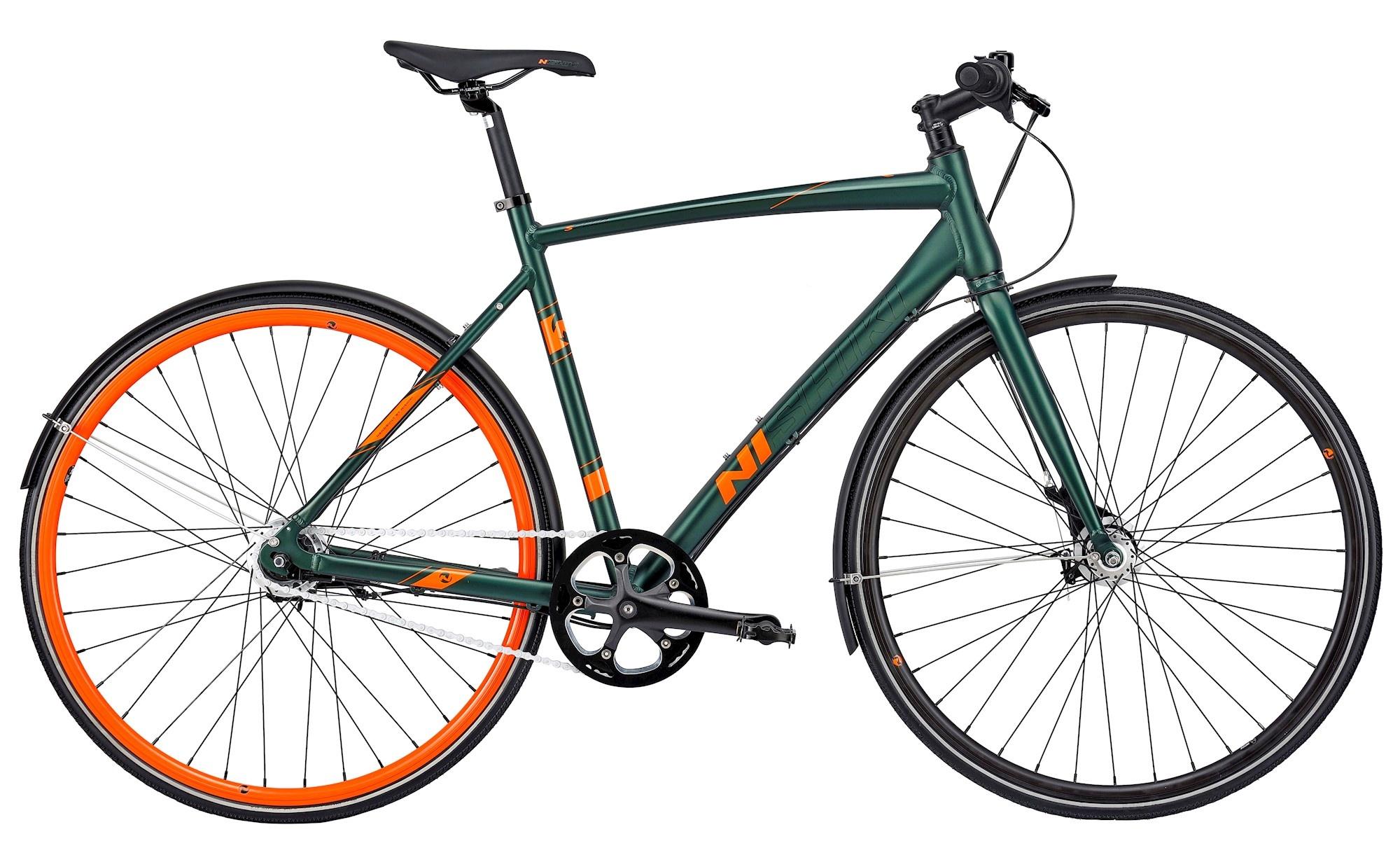 """Nishiki Speed Herre 7g 2021 - Grøn  »  Bike Size: 58cm/23"""""""