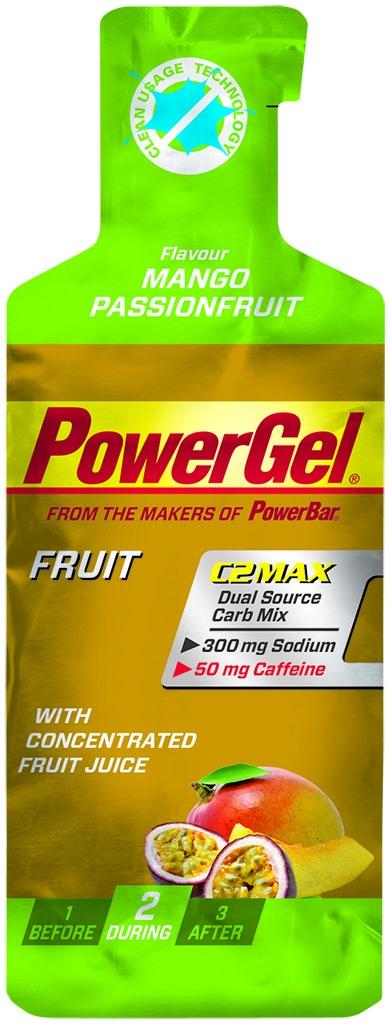 PowerBar PowerGel Frugt Mango/Passion