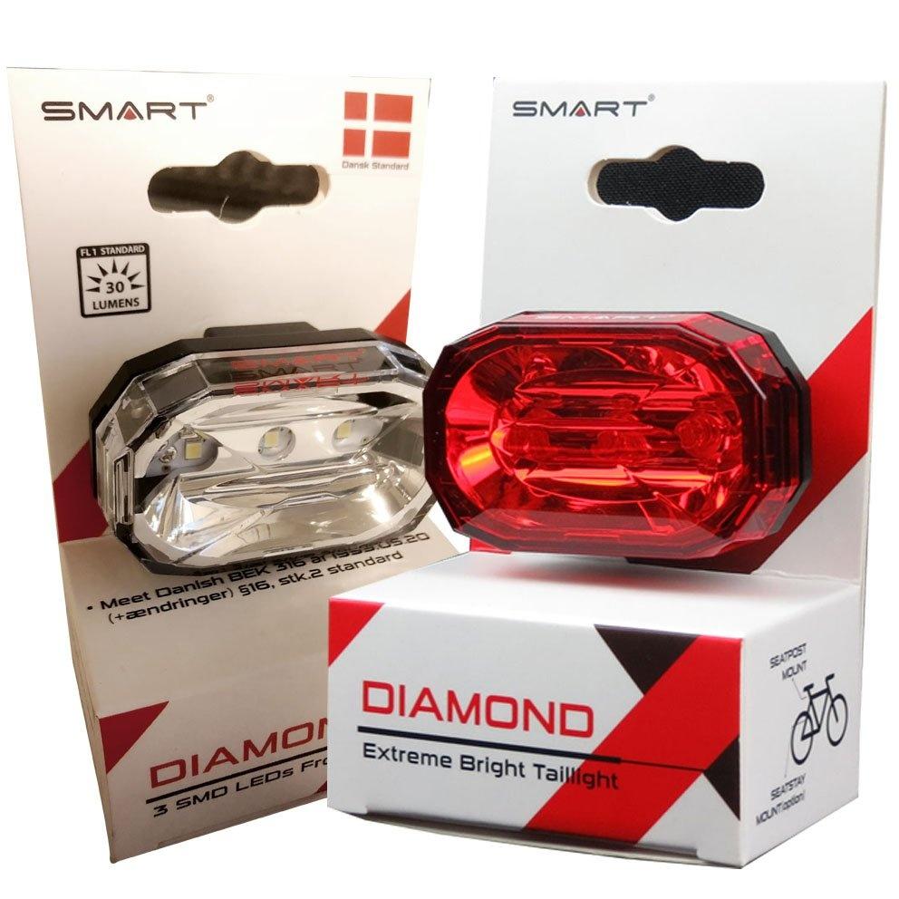 SMART Diamond Super Led Lygtesæt (30 & 15 lumens)