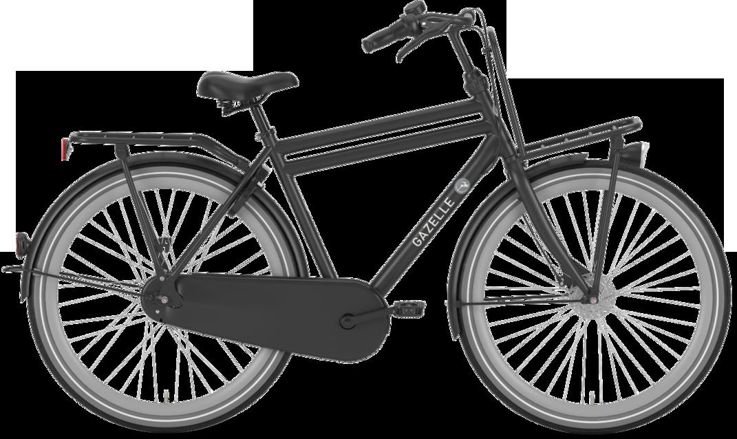 Gazelle Puur_Nl Herre 7G 2020 - Sort Cykler > Herrecykler