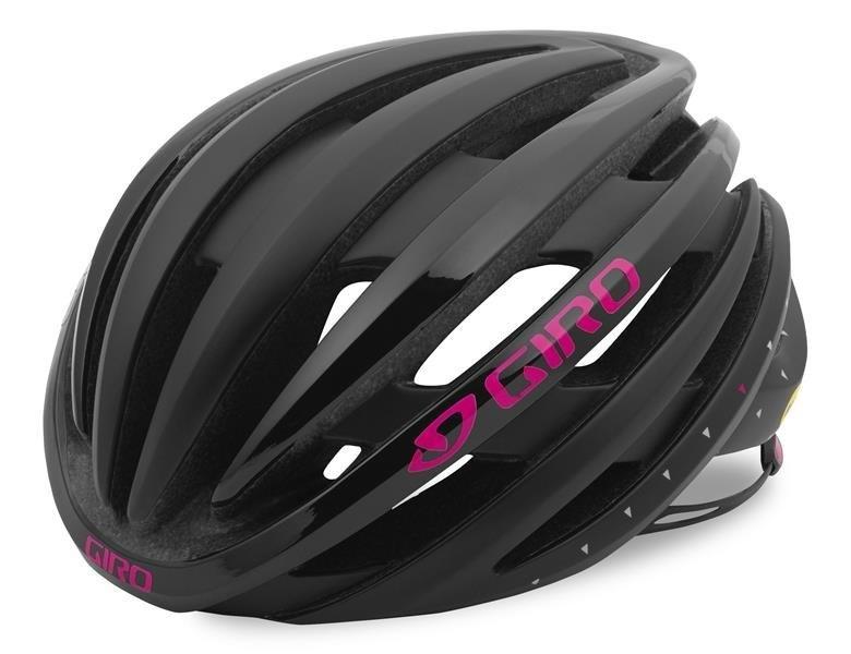 Giro Ember MIPS - Mat sort/Pink