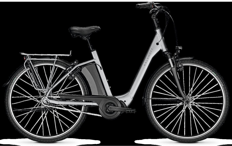 Kalkhoff Agattu 3.S Move 2020 - Sølv, Grå Cykler > Elcykler