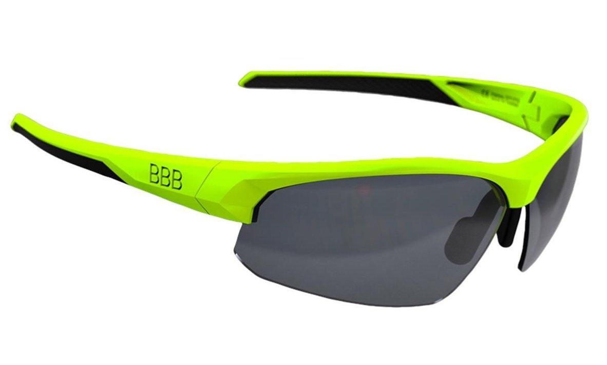 BBB Impress Cykelbriller med 3 sæt linser - Neon
