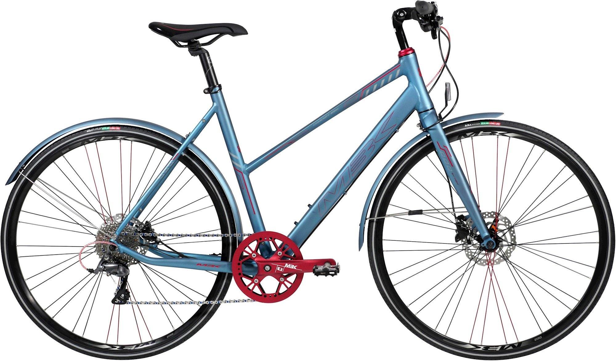 Mbk Concept 6Six Dame 8G Skivebremse 2020 - Blå Cykler > Damecykler
