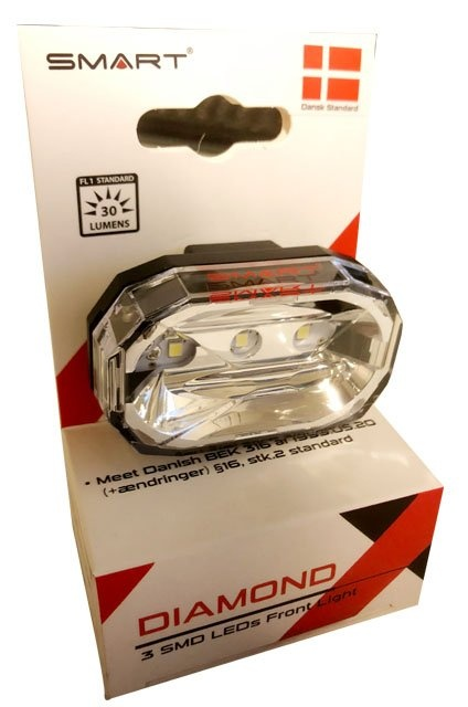 SMART Diamond Super Led Forlygte (30 lumens)