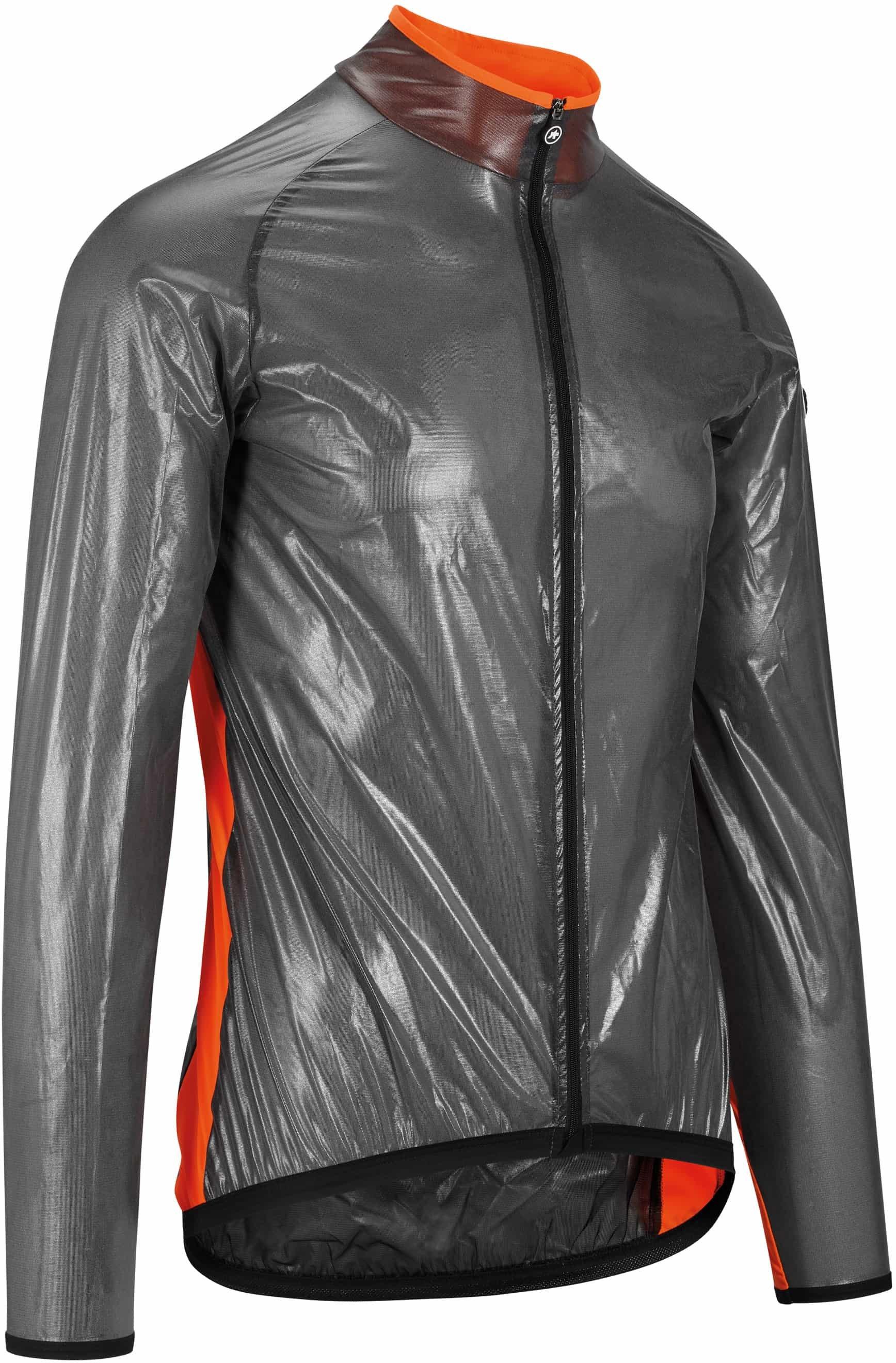 Assos MILLE GT Clima Jacket - Sort/Rød  »  Cloth Size: XS (X-Small)