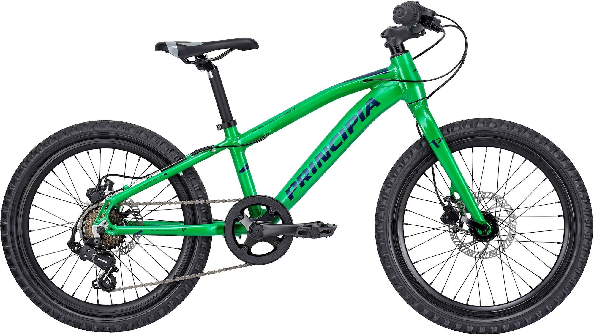 "Principia Principia Evoke A2.0 20"" 2021 - Grøn Cykler > Børnecykler"
