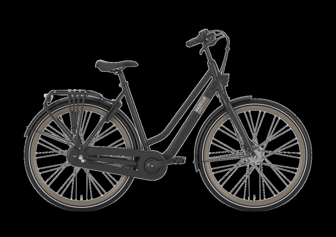 Gazelle Esprit Dame 2021 - Sort Cykler > Damecykler