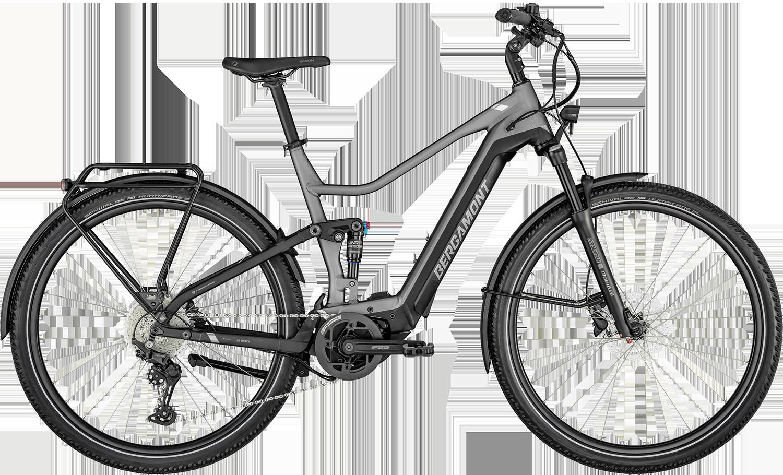 Bergamont Bergamont E-Horizon Fs Expert 2022 - Grå Cykler > Elcykler