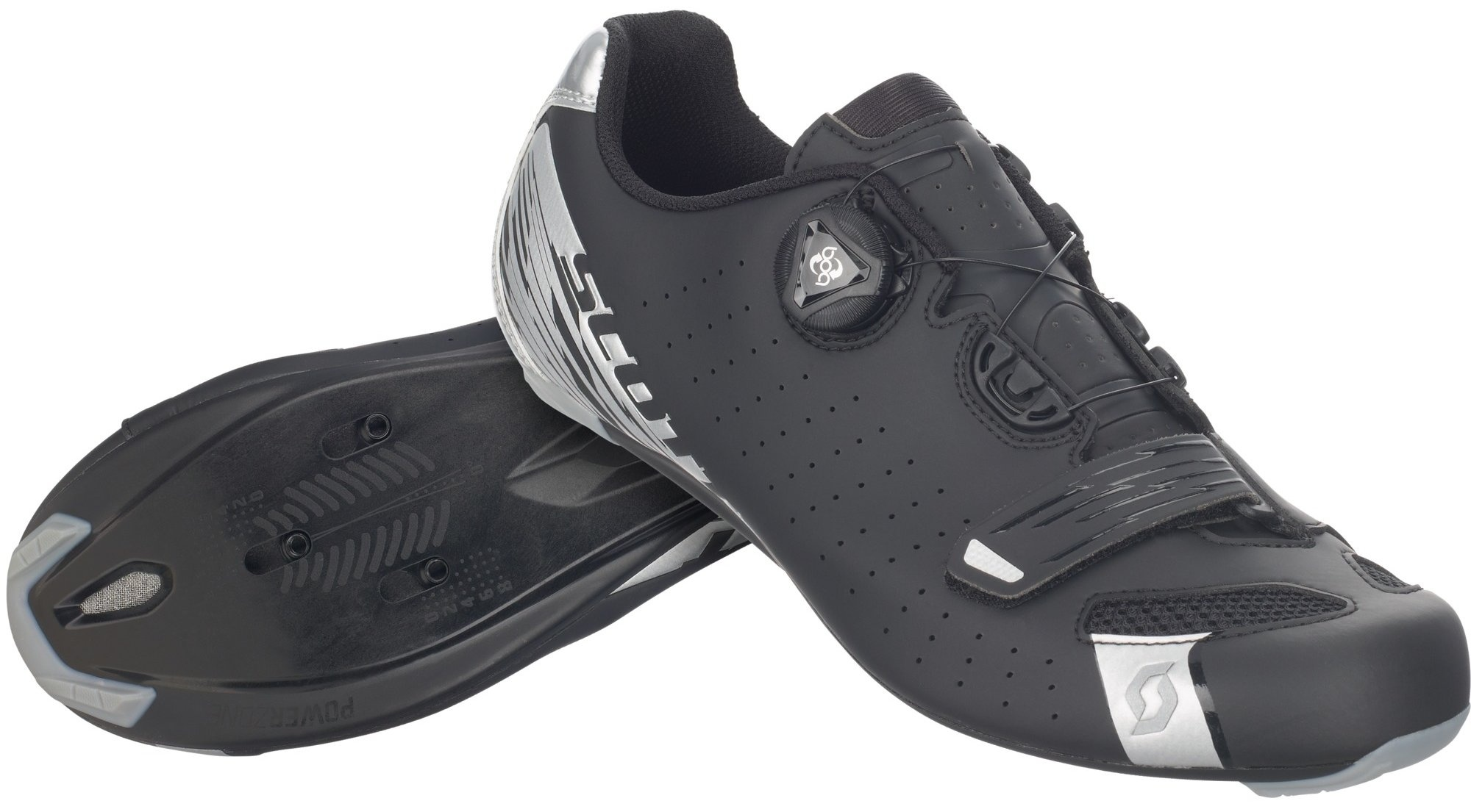 Scott Road Comp Boa Black/Silver