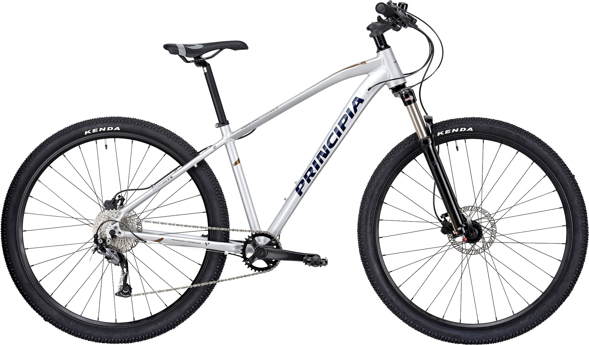 """Principia A5.9 29"""" 2021 - Sølv Cykler > Mountainbikes"""