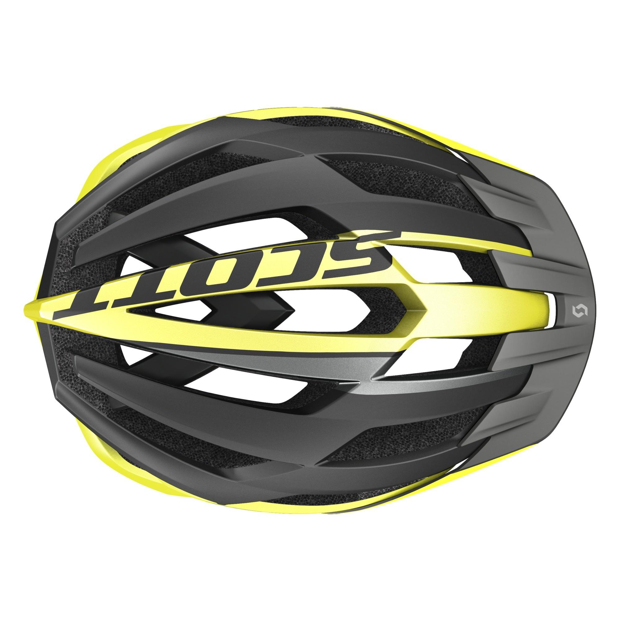 Scott ARX MTB Hjelm, Black/Yellow