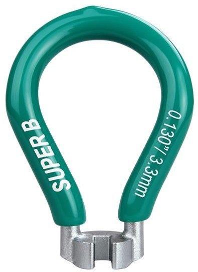 "SuperB Biketools Nippelnøgle 0,130"" 3.3mm"