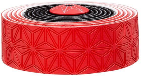 Supacaz Styrbånd Sticky KUSH Multi-Colored - Rød, Sort