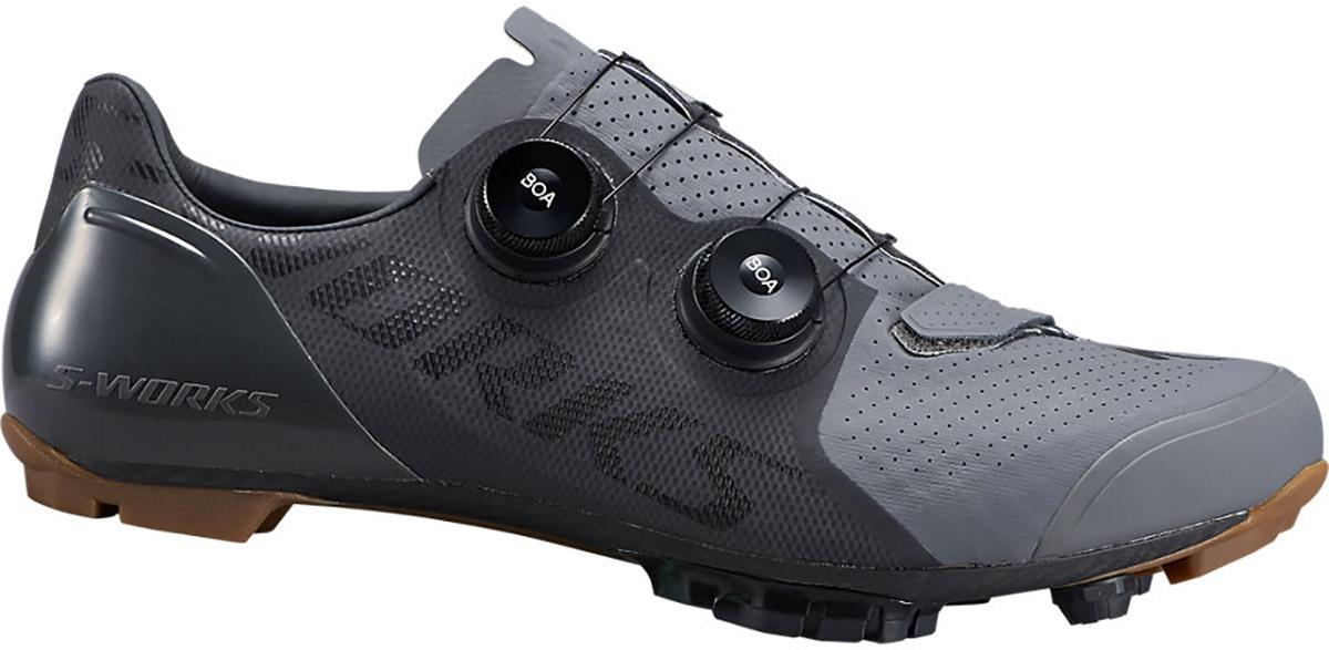 Specialized S-Works Recon Mountain Bike Mtb Sko - Sort/Grå Beklædning > Cykelsko