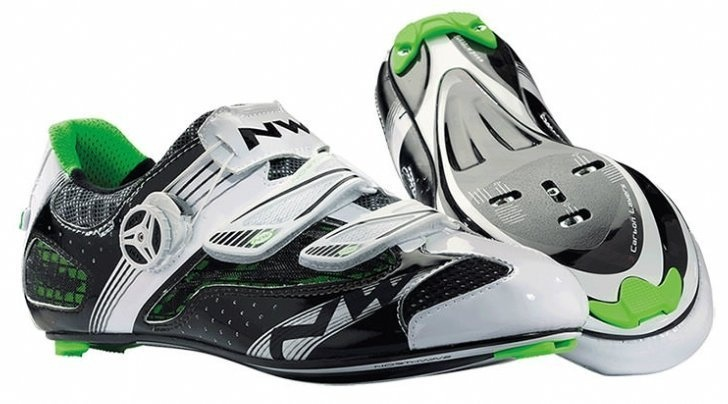 NorthWave Galaxy Herre Racersko - White Black Green