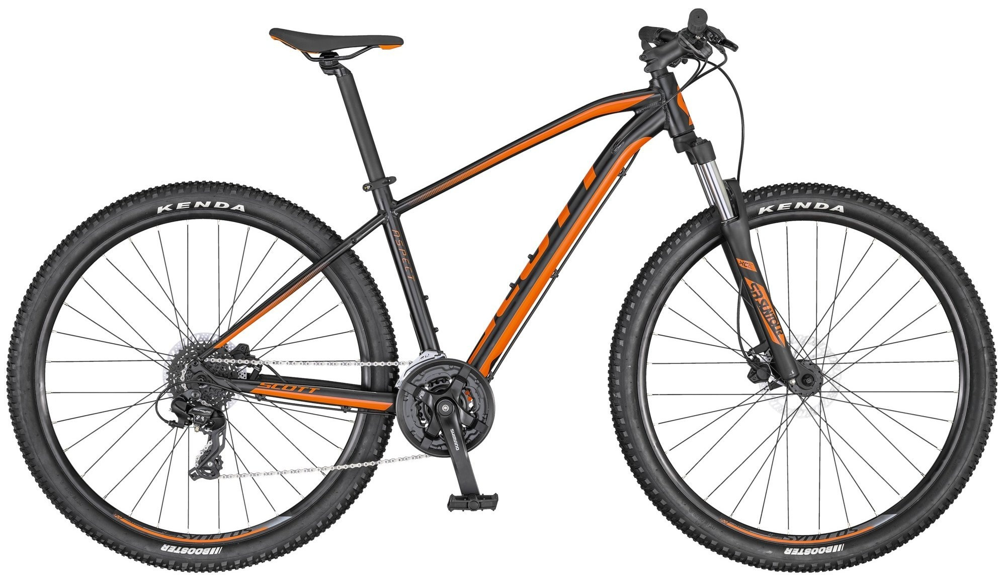 Scott Aspect 960 2020 - sort/orange