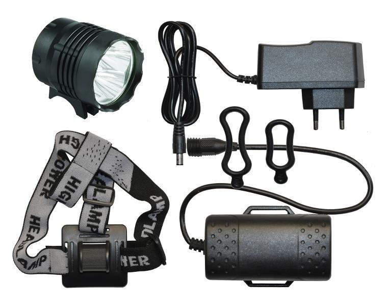 HighPower Kraftig LED-lygte på 4000/24w Lumen