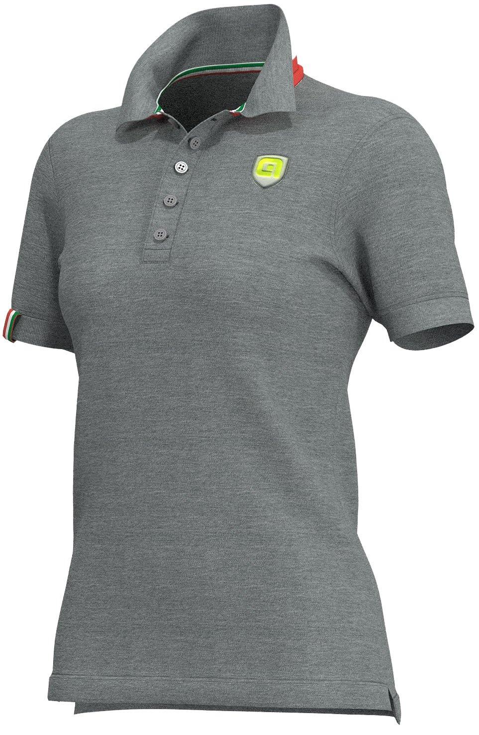 Alé Polo T-Shirt Lady - Grå