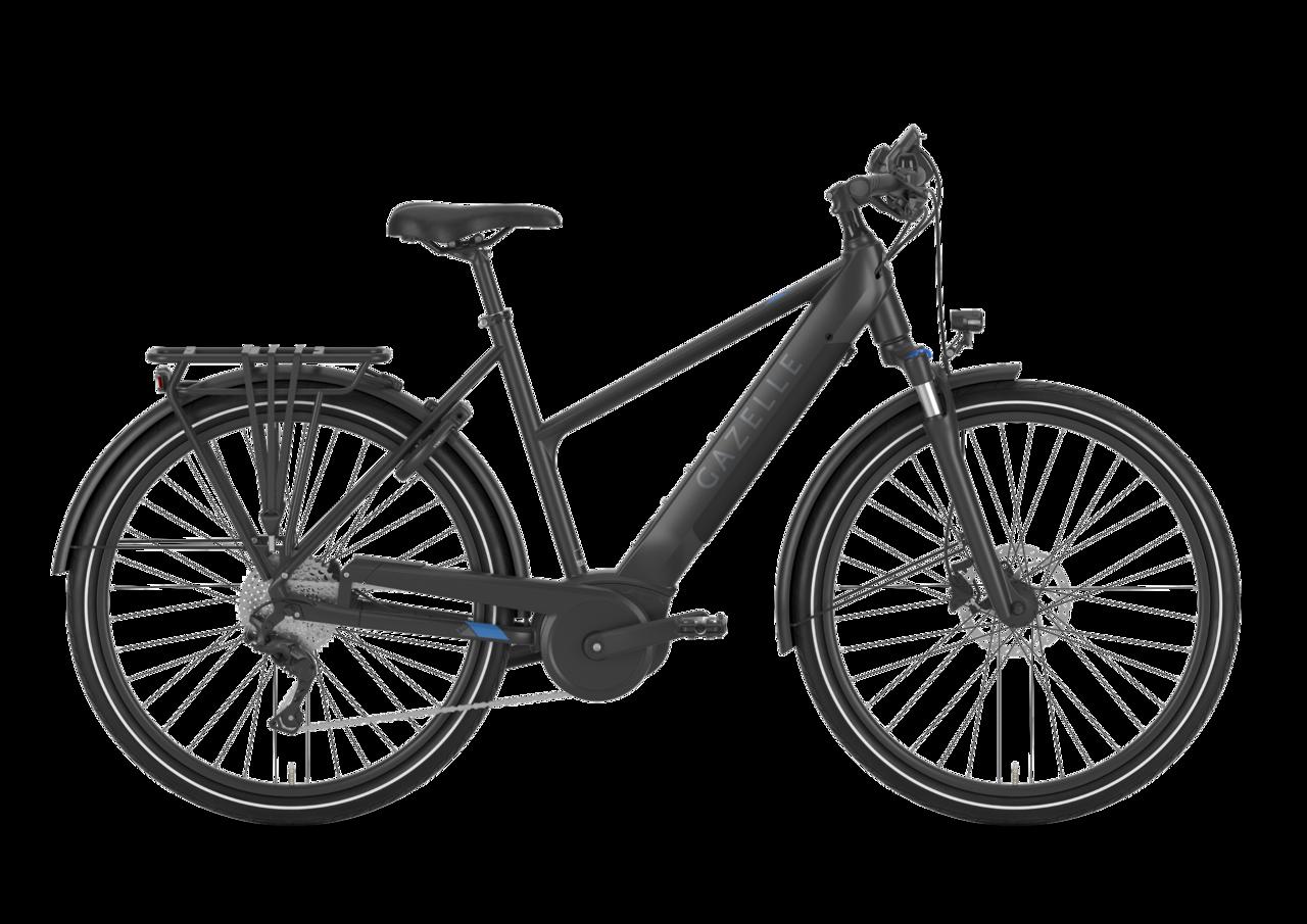 Gazelle Gazelle Medeo T10 Hmb Dame 2021 - Sort Cykler > Elcykler