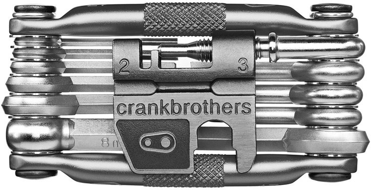 Crankbrothers Multi-tool M17 - Nickel