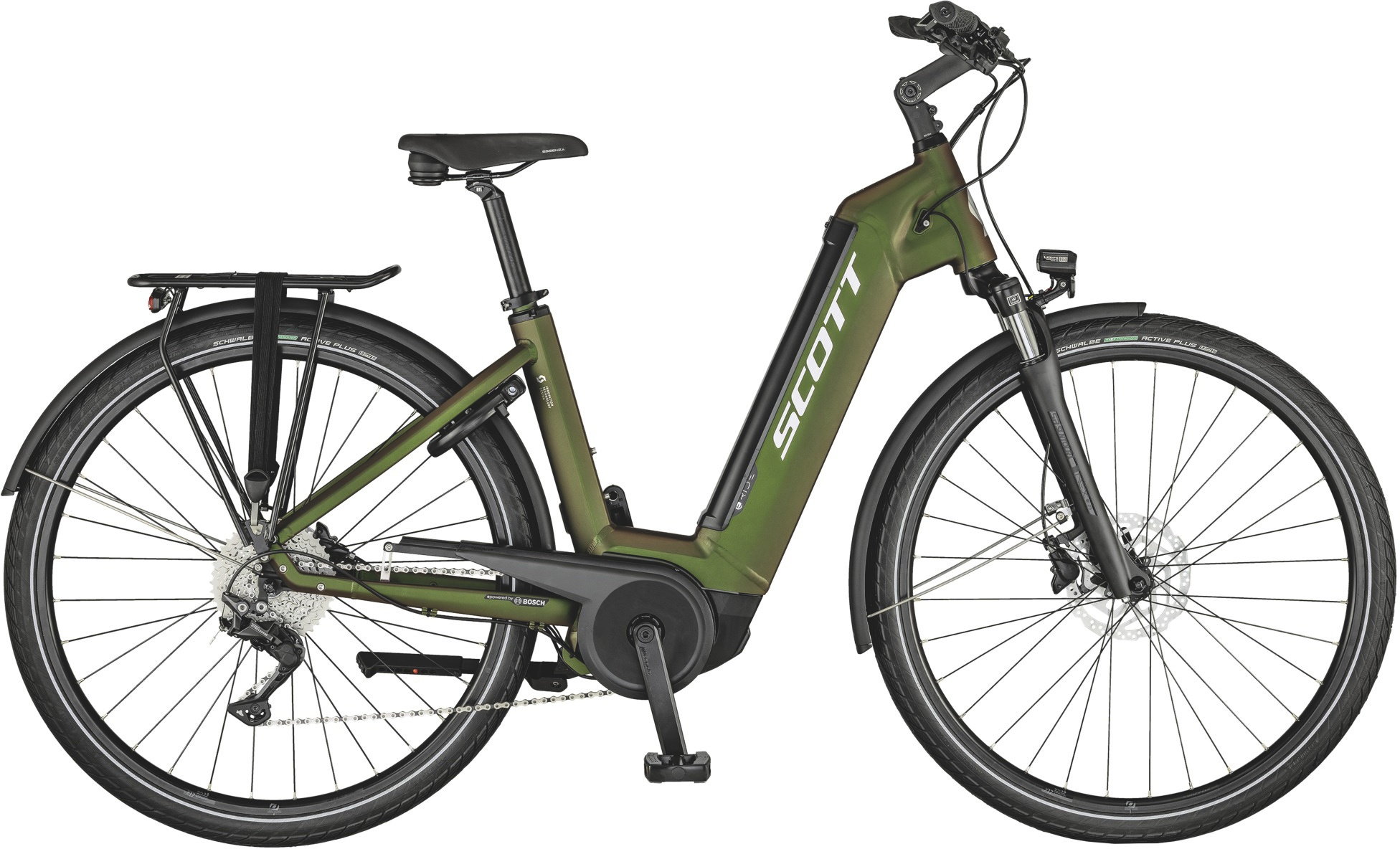 Scott Scott Sub Tour Eride 10 Usx 2021 Cykler > Elcykler