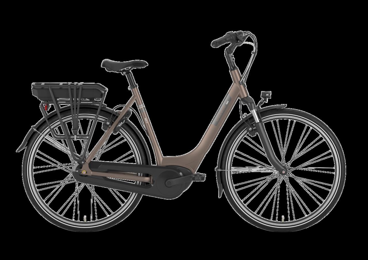Gazelle Gazelle Paris C7 Hmb Dame 2021 - Brun Cykler > Elcykler