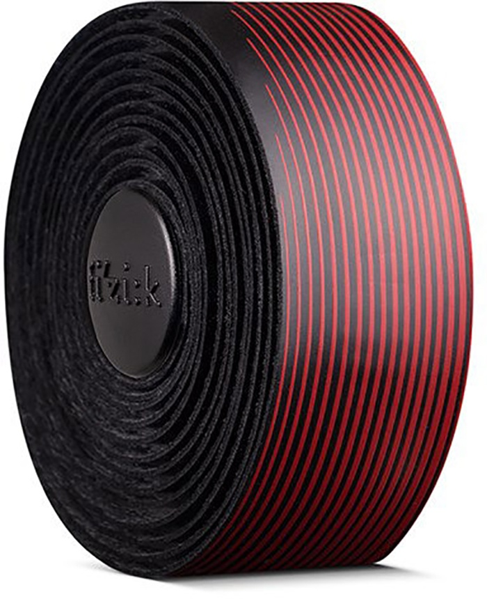 FIZIK Bar tape Vento Microtex Tacky Multi-Color, 2 mm - Sort/Rød