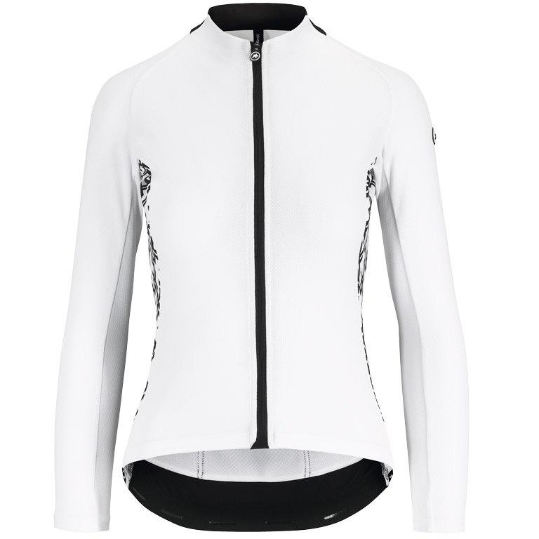 Assos Uma Gt Summer Ls Jersey - Langærmet Cykeltrøje - Hvid Beklædning > Cykeltøj Til Kvinder