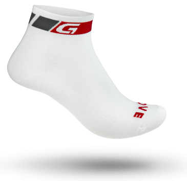 GripGrab Low Cut Sock, hvid [#73597 var] (S (38-41))