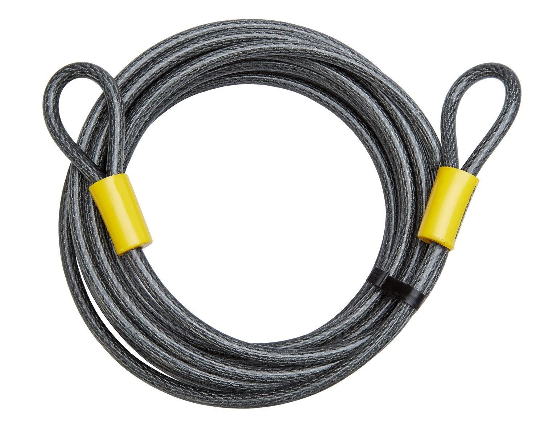 Kryptonite Wire med løkker 930cm