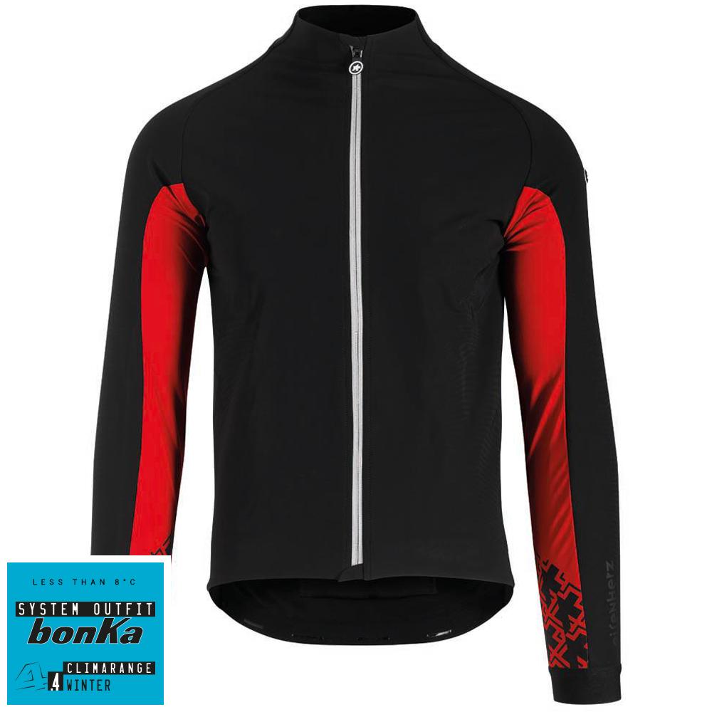 Assos Jakke Mille GT Jacket Ultraz Winter - Sort/rød