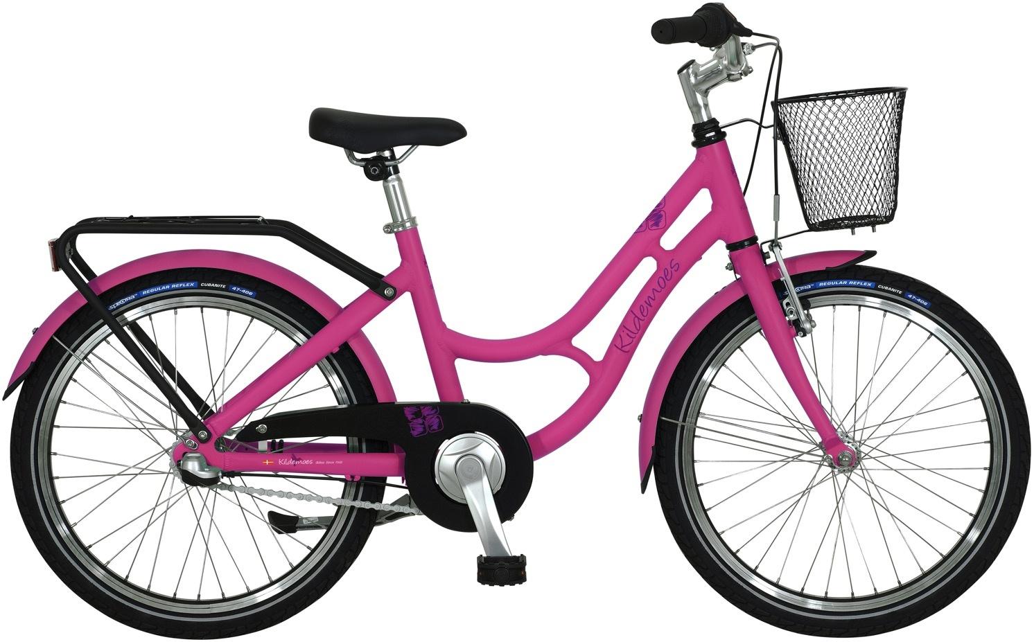 """Kildemoes Bikerz 20"""" 3g Pige 2020 - Pink"""
