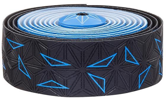 Supacaz Styrbånd Sticky KUSH Star Fade - Blå