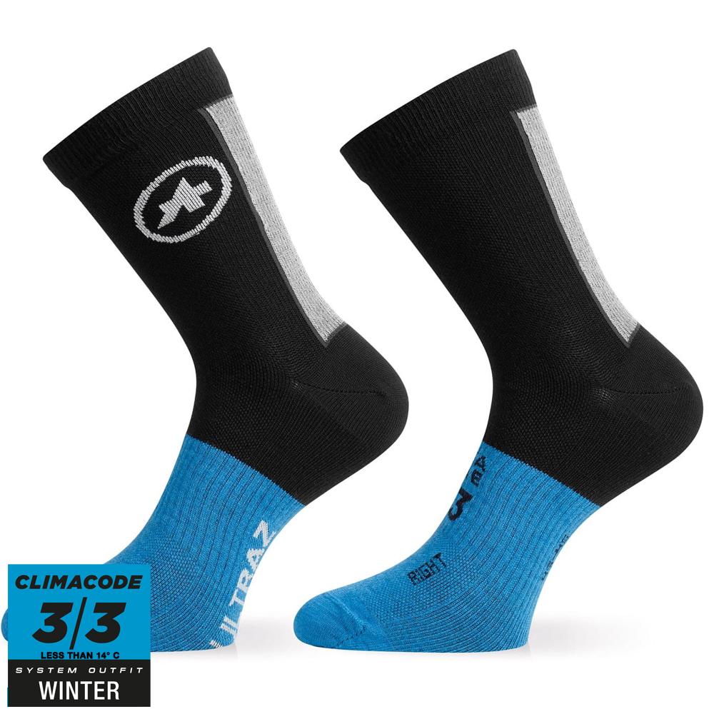 Assos Ultraz Winter Socks, Sort
