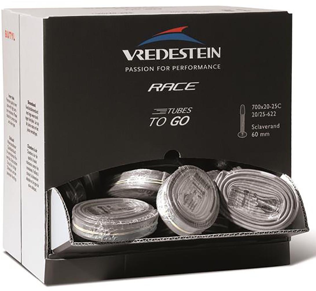 Vredestein Slange Butyl - Slanger to go 100 stk - 700x20-25c / 60mm
