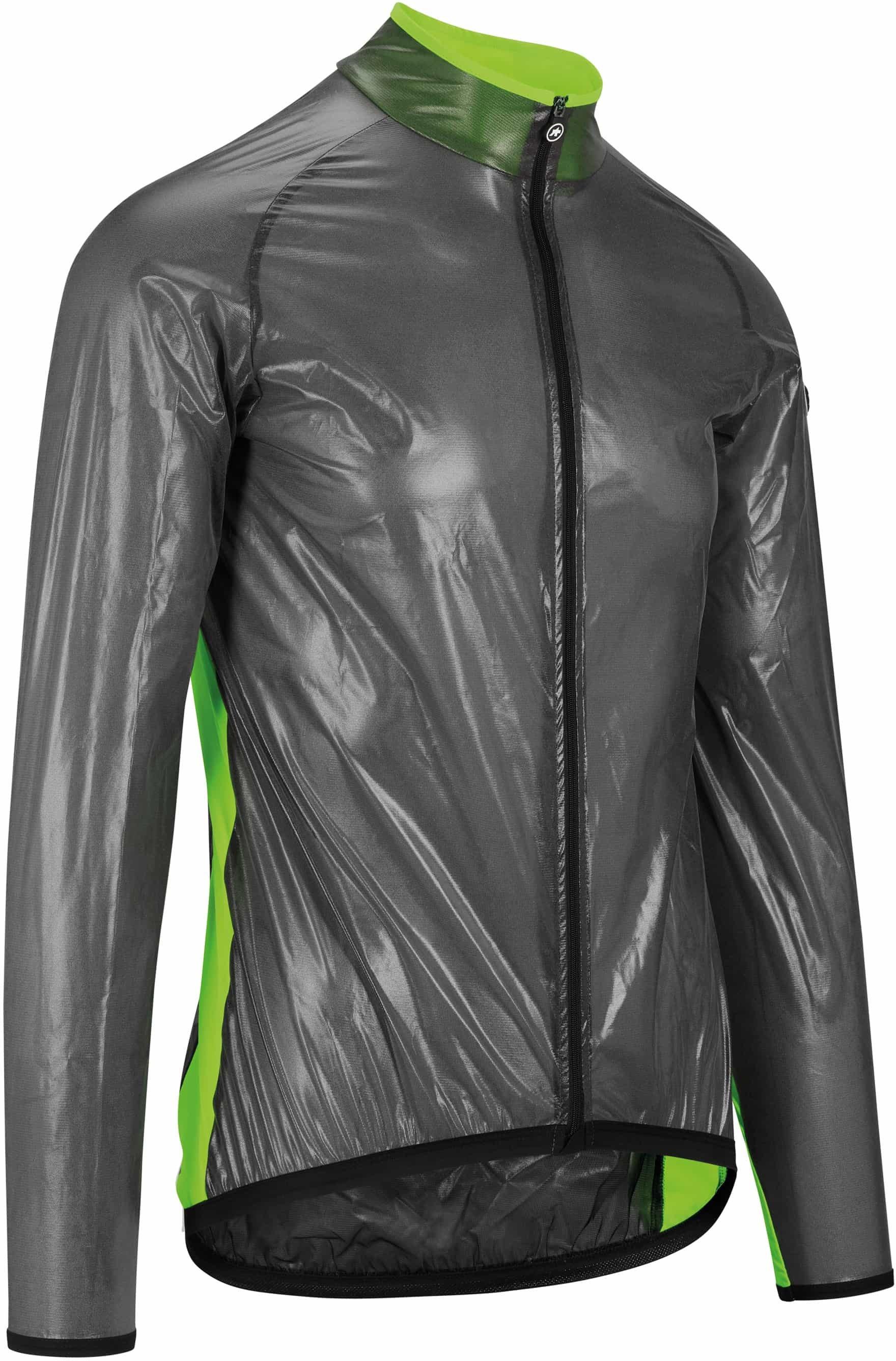 Assos MILLE GT Clima Jacket - Sort/Grøn  »  Cloth Size: L (Large)