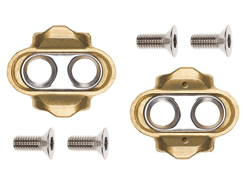 CrankBrothers Klamper / Cleats Kit 6 graders float