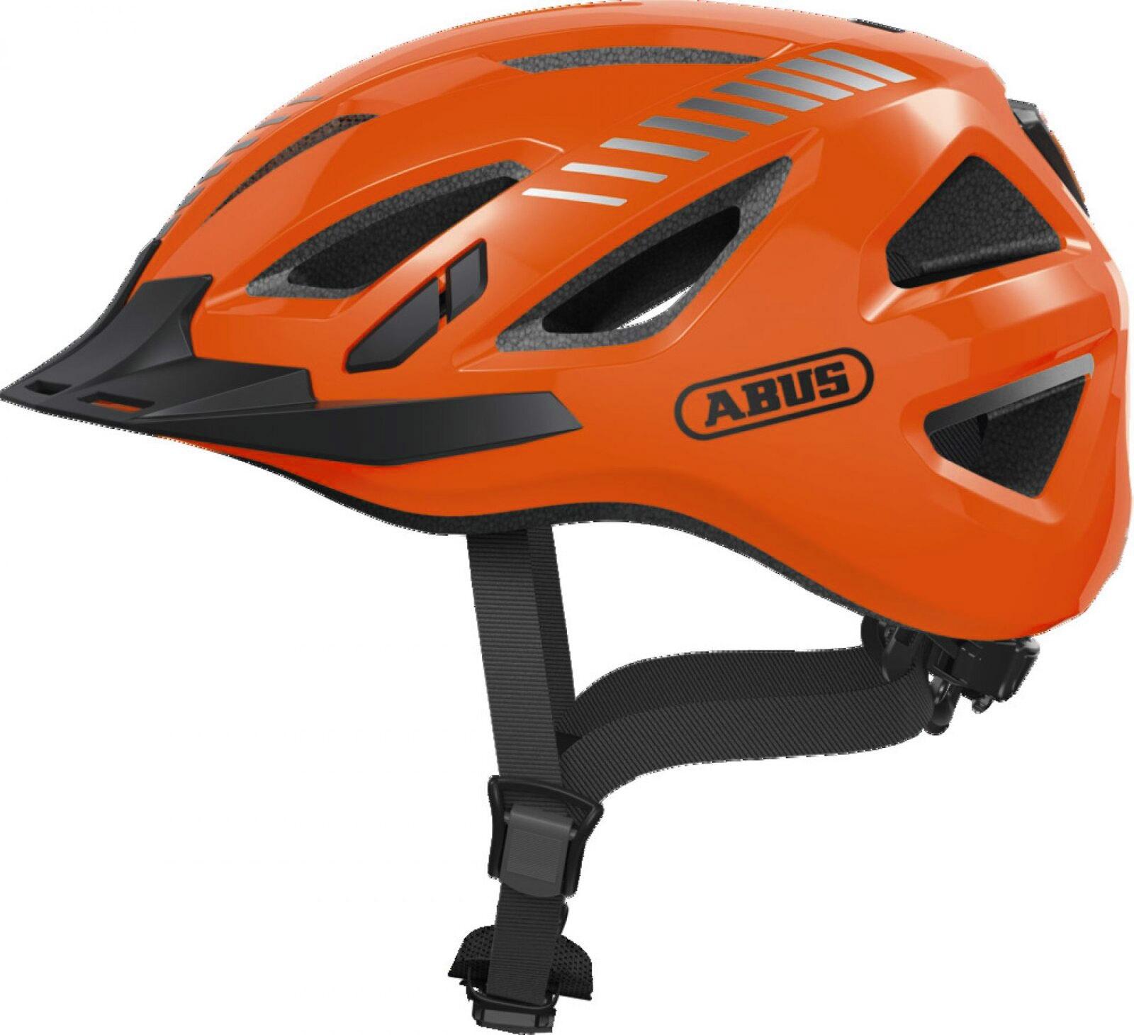 Abus Abus Urban-I 3.0 Signal M. Led - Orange Beklædning > Cykelhjelme > Cykelhjelme Med Lys