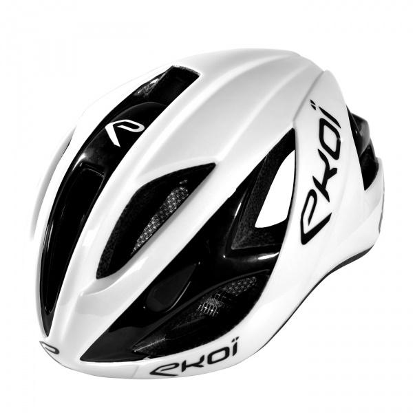 EKOI AR13 Cykelhjelm - Hvid/Sort