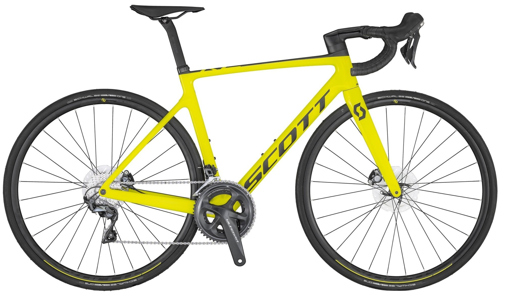 Scott Addict RC 30 2020 - gul