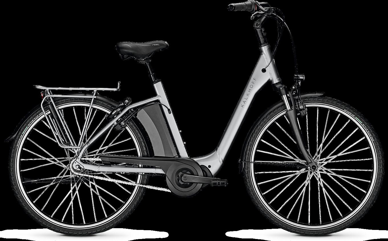 Kalkhoff AGATTU 3.S Move 2020 - Sølv, Grå | el-cykel