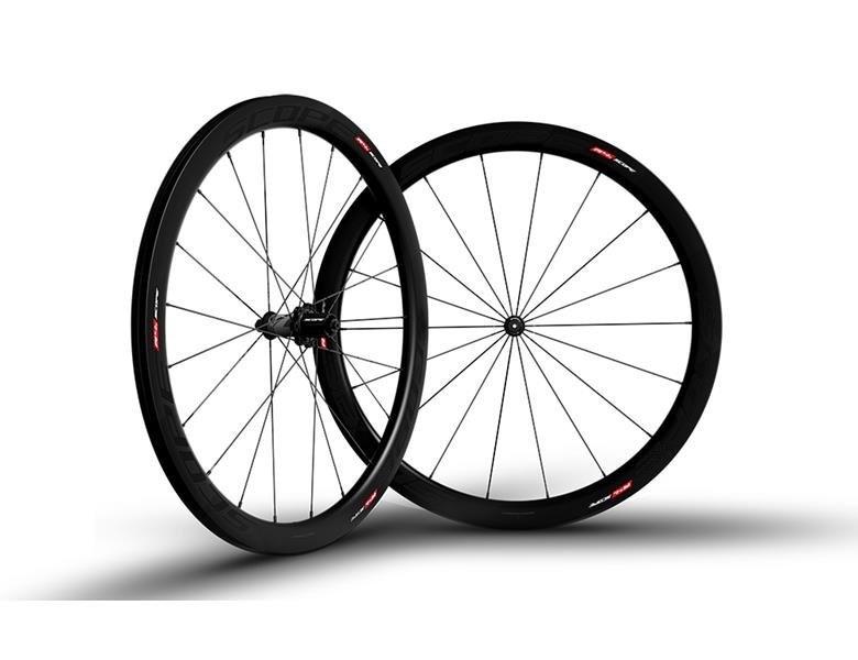 Scope R4C Carbon Hjulsæt - Sort