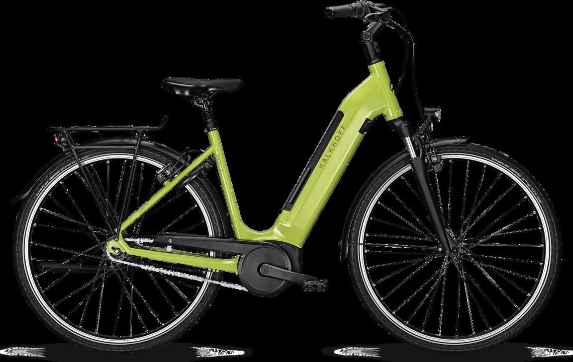 Kalkhoff Agattu 3.B Move Dame 2021 - Grøn Cykler > Elcykler