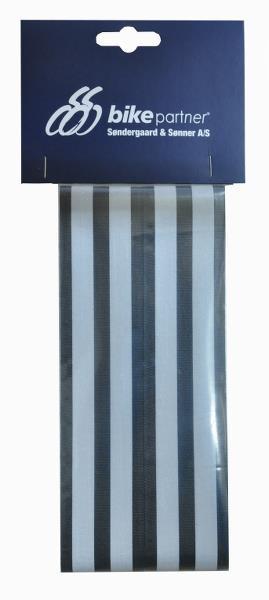 Refleksbånd Med Velcro - Sølv